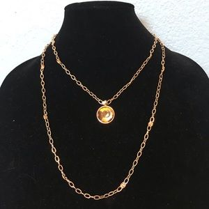 Beautiful double chain necklace